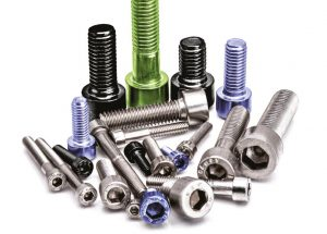 Fasteners with different coatings
